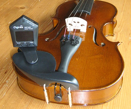 Stemapparaat voor violen